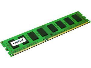 Crucial 8GB 240-Pin DDR3 SDRAM ECC Unbuffered DDR3L 1600 (PC3L 12800) Server Memory Model CT102472BD160B