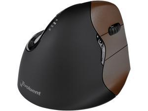 Evoluent - VM4SW - Evoluent Verticalmouse 4 Small Wireless Mouse - Optical - Wireless - Radio Frequency - USB - 2600 dpi