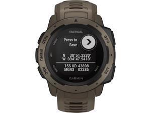 Garmin INSTINCTTTAN Instinct Outdoor GPS Watch - Tan - Tactical Edition