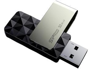 Silicon Power 32GB Blaze B30 USB 3.0 Flash Drive (SP032GBUF3B30V1K)