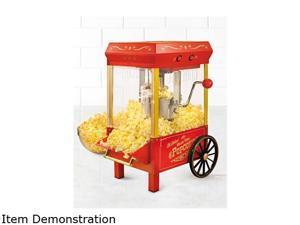 Nostalgia Electrics Vintage Collection 2.5 oz. Kettle Popcorn Maker,KPM508, Red