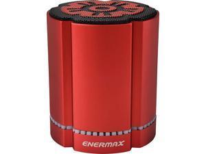 Enermax StereoSGL 4 Watt Bluetooth Wireless LED Speaker - Red