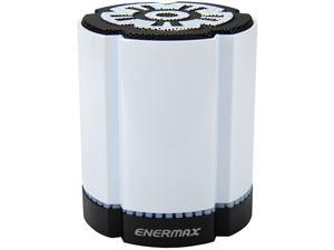 Enermax StereoSGL 4 Watt Bluetooth Wireless LED Speaker - White