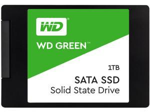 "Western Digital - WDS100T2G0A - WD Green 1TB Solid State Drive - 2.5"" Internal - SATA (SATA/600) - 545 MB/s Maximum Read"
