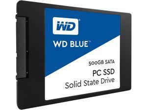 WD Blue PC SSD 500GB Internal SATA III (WDBNCE5000PNC-WRSN)