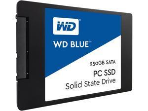 WD Blue 250GB SATA III Internal SSD (WDBNCE2500PNC-WRSN)