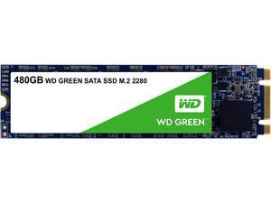 Western Digital 480GB WD Green Internal PC SSD - SATA III 6Gb/s, M.2 2280, - WDS480G2G0B