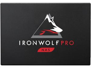 Seagate IronWolf Pro 125 SSD 240GB NAS Internal Solid State Drive - 2.5 Inch SATA 6Gb/s Speeds up to 545 MB/s, 1 DWPD Endurance and 24x7 Performance for Creative Pro, and SMB (ZA240NX1A001)