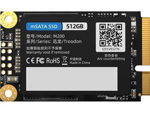 ORICO mSATA 512GB SATA III 3D NAND Internal SSD TLC - mSATA3.0 6Gbps Internal Solid State Drive for Desktop Laptop (M200)