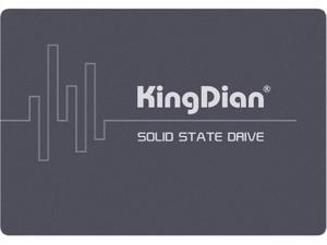 KingDian 2.5'' SATA3 SSD SATA III SSD Internal Solid State Drive Disk for Laptop Desktop PCs and MacPro POS Game Advertising Machine Thin Client Router High Performance SSD (S400 120G)