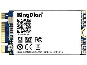 KingDian M.2 NGFF 2242 SATA SSD 120GB SSD Internal Solid State Drive Silent (SSD) TLC Storage Grain High Performance SSD for Desktop PCs and MacPro (N400 120GB 2242mm)