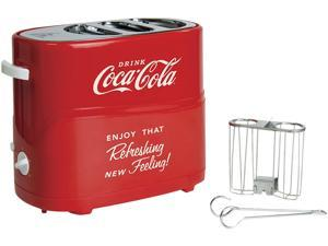 Nostalgic Coca-Cola Hot Dog and Bun Toaster, HDT600COKE