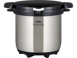 Thermos Outdoor Shuttle Chef, 4.5L Thermal Cooker, Stainless Clear, RPC-4500
