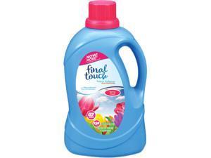 Scented Fabric Softener, Spring Fresh, 134 oz Bottle, 4/Carton FINTO37