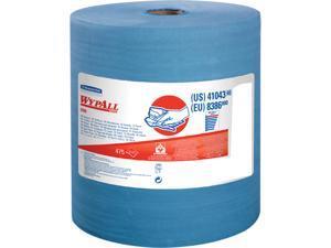 "Kimberly-Clark Wipers X80 Jumbo Roll 12.5""x13.4"" 475 Sht Blue 41043"