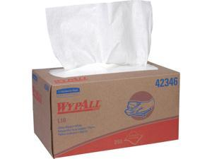 WypAll L10 Disposable Towels (42346), Limited Use / Lightweight, 1-PLY, Pop-Up Box, White, 24 Boxes / Case, 250 Wipes / Box