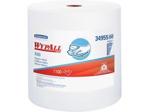 WypAll* X60 Wipers Jumbo Roll 12 1/2 x 13 2/5 1100 Towels/Roll 34955
