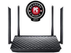 ASUS RT-AC1200G AC1200 Dual-Band Wi-Fi Router with Four 5 dBi Antennas and Parental Controls