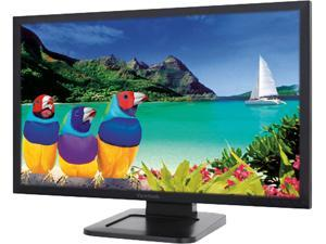 """ViewSonic TD2421 24"""" Touch Monitor, 1920 x 1080, 50,000,000:1 Contract Ratio, 250 cd/m2, VESA Compatible 100 x 100 mm, 178/178 Viewing Angles, HDMI&VGA, Build-in Speaker"""
