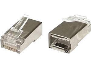Ubiquiti TOUGHCable Connector Shielded Design ESD Damage Protection Category 5eCompliance (TC-CON-100)