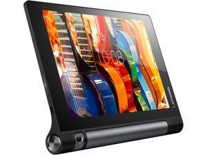 """Lenovo YOGA Tab 3 8 ZA090094US Qualcomm APQ8009 (1.30GHz) 2 GB Memory 16 GB eMMC 8.0"""" 1280 x 800 Tablet PC Android 5.1 (Lollipop) Black"""