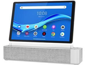 "Lenovo Smart Tab M10 FHD Plus with Alexa Built-in ZA6M0009US MediaTek Helio P22T 2.3 GHz 4 GB LPDDR4X Memory 64 GB eMMC 10.3"" 1920 x 1200 Tablet PC Android Pie Platinum Grey"