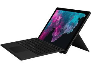 "Microsoft - Surface Pro 6 - 12.3"" Touch Screen - Intel Core i5 8250U (1.60 GHz) - 8 GB Memory - 256 GB SSD - Windows 10 Home 64-bit - With Keyboard - Black"