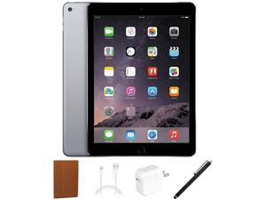 "Apple iPad Air 9.7"" Tablet 32GB iOS Bundle Space Gray"