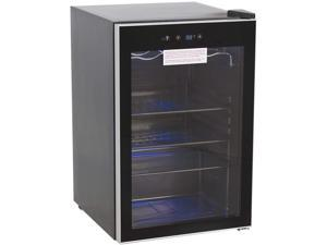 Royal Sovereign RMF-BC-128SS Beverage and Wine Cooler, Black, 4.5 Cubic Ft