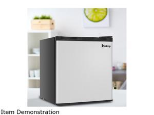 Compact Mini Freezer Single Door Fridge Household Compressor Cooling Home Bar 1.1 CU.FT
