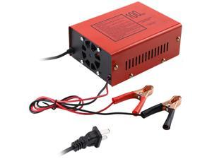 FirstPower 140W 100AH 12V/24V Output Maintenance-free Battery Charger For Electric Car Motorcycle New