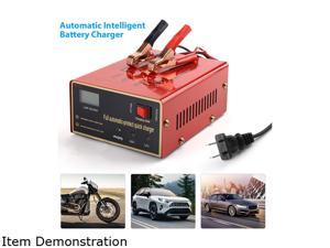 FirstPower 140W 10A 12V/24V Car Motorcycle Lead Acid Battery Charger Output Maintenance-free Full Automatically Electric Car Battery Chargers