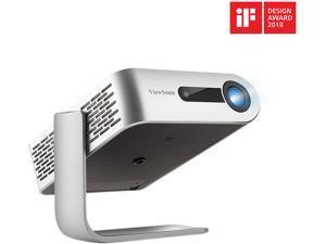 ViewSonic M1+ Portable Smart Projector with Auto Keystone Dual Harman Kardon Bluetooth Speakers and HDMI, USB Type C Inputs