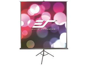 Elite Screens - T113SB - Elite Screens TRIPOD B - 113-INCH, 1:1, Lightweight Pull Up Foldable Stand, Manual, Movie Home