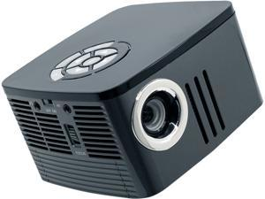 AAXA P7 Mini Projector with Battery (2019 Model), Native 1080P Full HD Resolution, 30,000 Hours LED Projector, Onboard Media Player, Business and Home