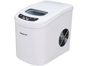 MAGIC CHEF MCIM22W 27lb-Capacity Ice Maker (White)