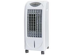 Sunpentown Evaporative Air Cooler with 3D Cooling Pad, White SF-614P