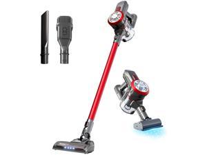 Dibea Upgrade Cordless Lightweight Stick Vacuum Cleaner, 15000pa Powerful Suction Bagless Rechargeable 2 in 1 Handheld Car Vacuum (send from US)