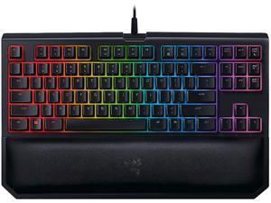 Razer BlackWidow Tournament Chroma V2 Mechanical Gaming Keyboard - Orange Switch