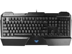 AULA Sapphire Mechanical Keyboard with Blue Switch, Ergonomic Keyboard Gaming Keyboard and Computer Keyboard