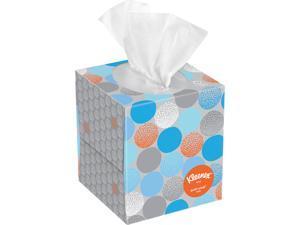 Kleenex Professional Anti-Viral Facial Tissue Cube for Business (21286), White, 3 Boxes / Bundle, 4 Bundles / Case, 12 Boxes / Case