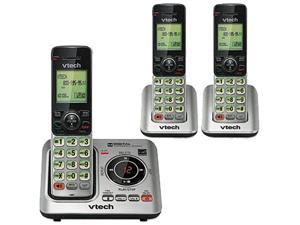Vtech Communications CS66293 CS6629-3 Cordless Digital Answering System, Base and 2 Additional Handsets