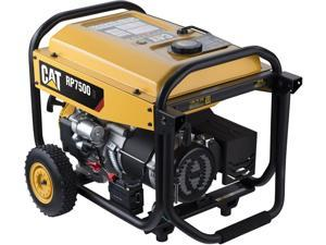 Caterpillar RP7500E Gas Powered Portable Generator with Electric Start - 7500 Running Watts/9375 Starting Watts CARB Compliant 502-3690