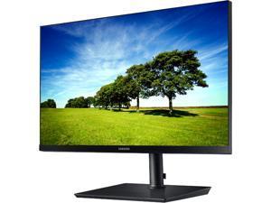 "Samsung S24H850QFN 24"" (23.8"" Actual size) Quad HD 2560 x 1440 2K Resolution 5ms DisplayPort USB Type-C HDMI AMD FreeSync Flicker-Free LED Backlit LCD Monitor"