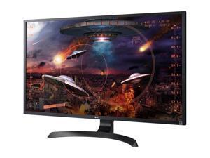 """LG 32MU59-B Matte Black 32"""" Class UHD 4K AMD FreeSync Gaming Monitor, Anti-Glare, sRGB, 300 cd/m2, 2 x HDMI, DisplayPort, Tilt, Height Adjustable, VESA Compatible"""