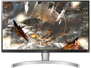 "LG 27UL650-W 27"" UHD (3840 x 2160) IPS Monitor DisplayHDR 400 FreeSync Height Adjustable Stand 2x HDMI DisplayPort"