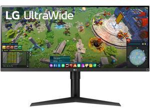 "LG UltraWide 34WP65G-B 34"" 2560 x 1080 UW-Full HD IPS 1ms MBR 75Hz FreeSync HDR10 HDMI DisplayPort USB Type-C, VESA, Tilt, Height Adjust Monitor"