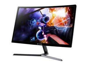 "Aopen Gaming Series 24HC1QR Pbidpx 23.6"" Black VA Curved 1800R FreeSync 144Hz LED Monitor 1920 x 1080 Widescreen 16:9 4ms Response Time 250 cd/m2 1000:1 DVI, HDMI, DisplayPort"