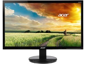"Acer K242HL Dbid 24"" Black 1ms Response Time LED Monitor 1920 x 1080 Widescreen 16:9 250 cd/m2 1000:1 VGA, DVI, HDMI"