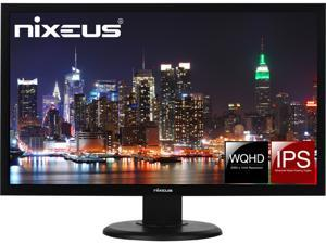 "Nixeus Vue 27"" IPS 2560 x 1440 60Hz Monitor with DisplayPort 1.2, HDMI, and USB Type-C input for ThunderBolt 3 Compatibility (NX-VUE27C)"